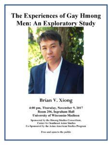 Brian V Xiong Poster